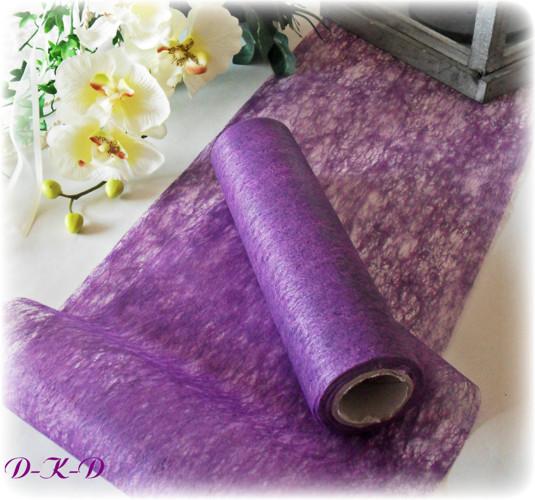 20 m tischband lila kommunion tischl ufer vlies. Black Bedroom Furniture Sets. Home Design Ideas