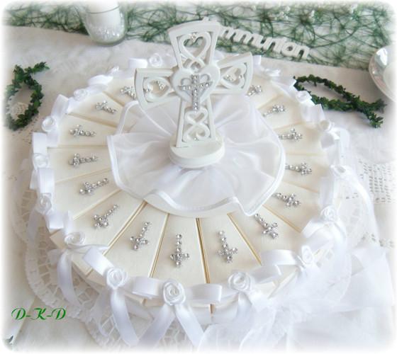 Torte 18 Gastgeschenke Mit Kreuz Gastgeschenke Kommunion