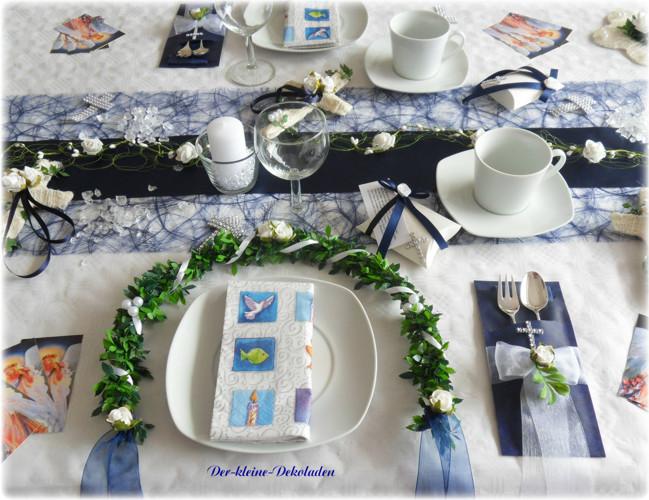 serviettentasche bestecktasche blau kommunion konfirmation. Black Bedroom Furniture Sets. Home Design Ideas